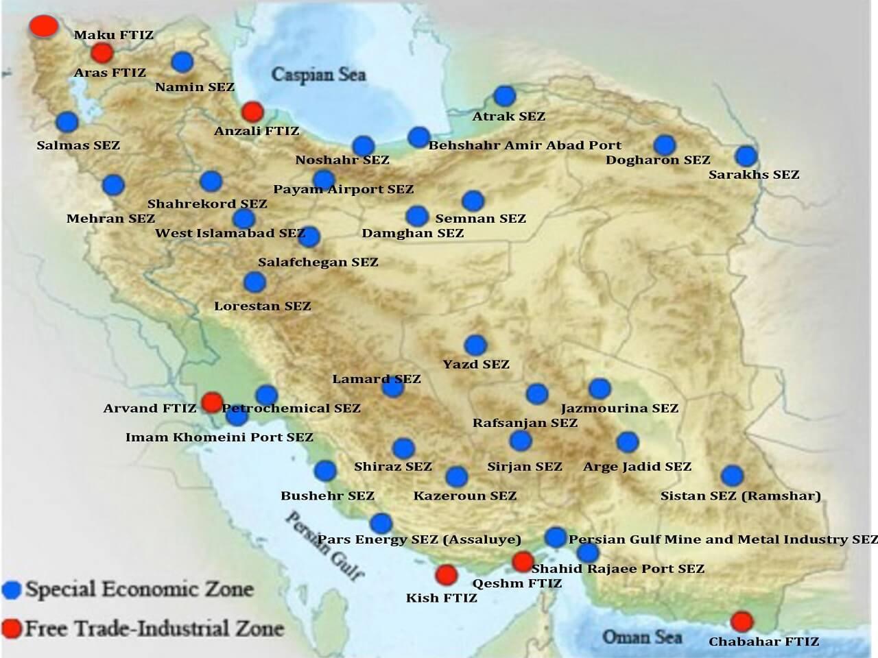 İran Türkiye ile Ticaretinde Serbest Bölgelerin Ağırlığını Artıracak